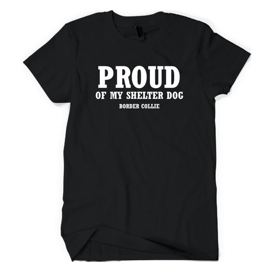 Proud Of My Shelter Dog – Border Collie